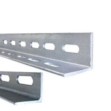 Galvanized perforated metal slotted angle iron with holes for shelving