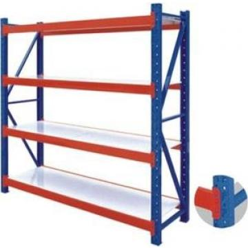 Heavy Duty Shelving 4 Level Black Full Metal Wiremesh Overhead Rack storage racking for Warehouse