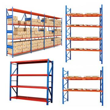Corrosion protection medium duty goods shelf warehouse storage iron shelving