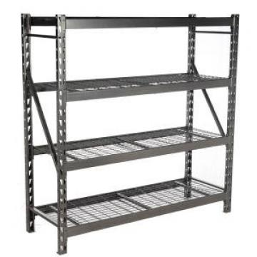 Warehouse steel slotted angle rack/shelving with steel shelving units
