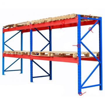 Heavy duty shelving storage rack multilayer industrial mezzanine rack for warehouse