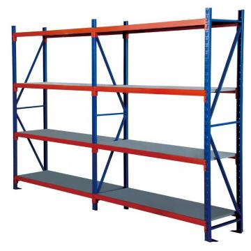 4 layer warehouse storage used metal iron shelving units
